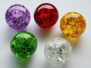 Glass Balls with Special Effect