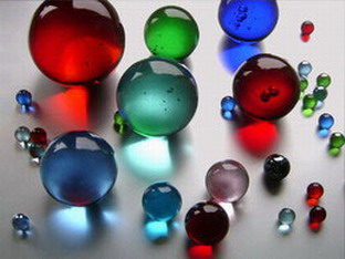 Glass Balls for Garden and Decoration