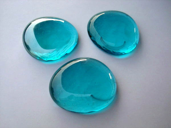 Glass Pebbles 43 45 Mm Glass Nuggets Buy Online Fast